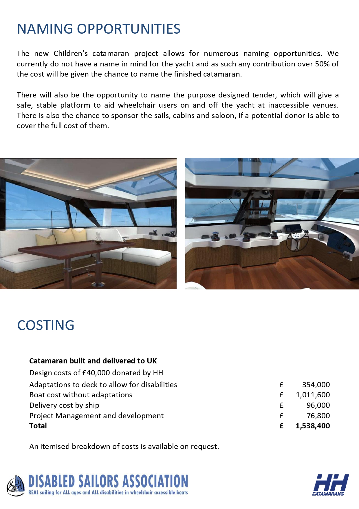 disabled sailing wheelchair accessible yacht